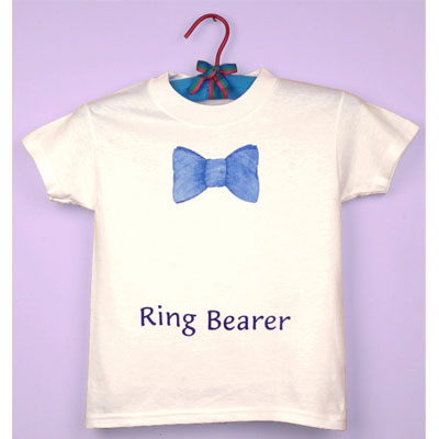 Ring Bearer Tee Shirts